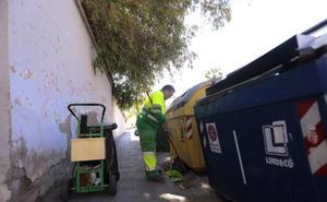 Los contenedores de Motril se quedarán esta noche sin recoger: solo habrá servicio en hospital y mercado