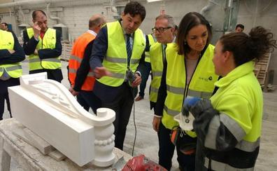 La ministra de Industria aboga por crear «una marca» para dar visibilidad al sector del mármol
