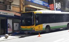 El autobús urbano de Jaén sufre un nuevo accidente