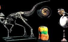 Un dinosaurio en el salón