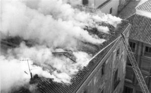 Los grandes incendios que devastaron monumentos de Granada