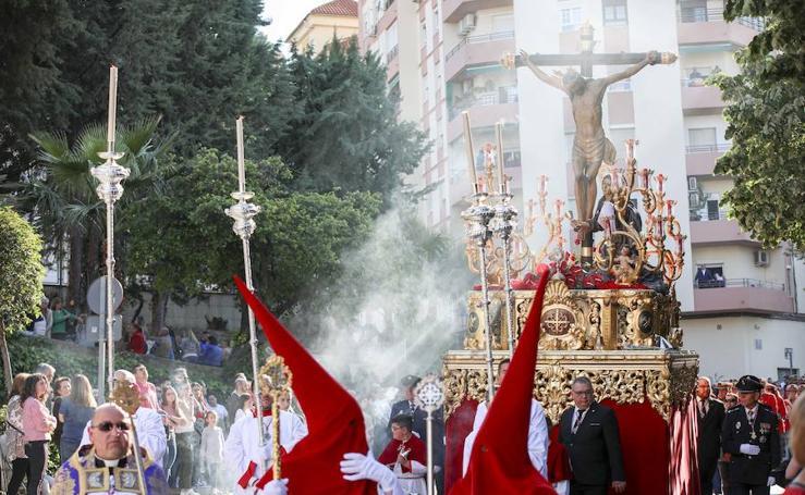 Jaén se rinde ante el Cristo de la Clemencia