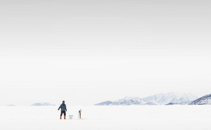 Imágenes espectaculares de la expedición granadina a Groenlandia