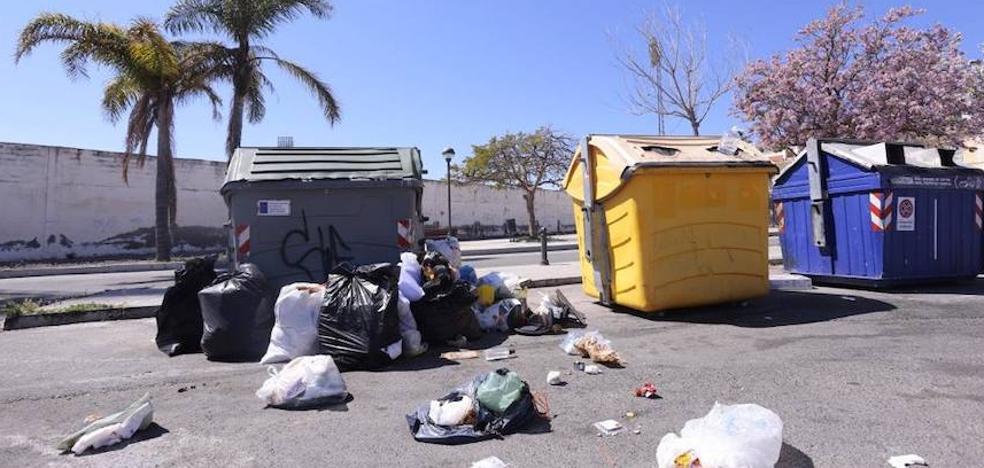 Casi un 100% de seguimiento en la huelga de basura, según los sindicatos