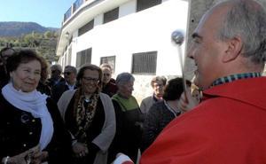 Soportújar celebra el Domingo de Ramos con una misa en la plaza y una procesión
