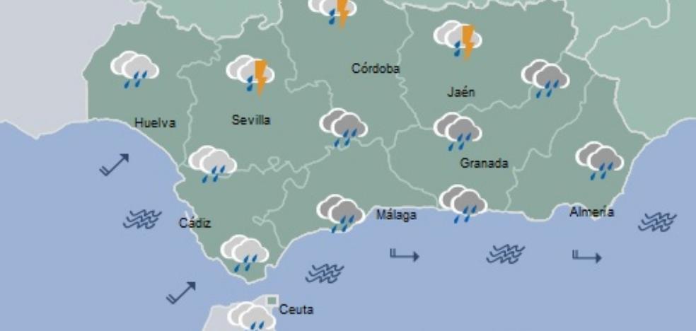 Jueves y Viernes Santo, amenazados por un temporal de lluvias y fuertes vientos