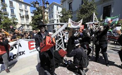 La Alpujarra, en pie de protesta...