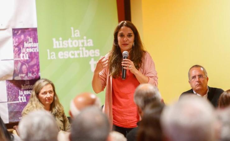 Así ha sido el acto público de Podemos en la provincia de Granada