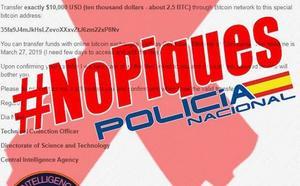 La Policía advierte sobre una nueva estafa por correo electrónico