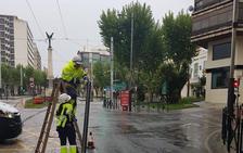 Arranca un semáforo en Paseo de la Estación e inicia una persecución con la Policía