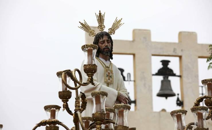 El Cautivo procesiona por Jaén en su Miércoles Santo