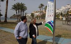 Almuñécar renueva su señalización turística situada en calles y playas