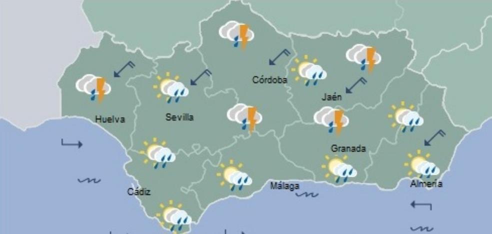 Almería, en alerta amarilla desde este sábado con amenaza de lluvia