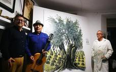 'El olivo sabe a tiempo' combina poesía, pintura y flamenco