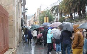 Jaén, cuarta provincia española donde más ha llovido y seguirá haciéndolo