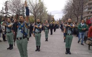 La vuelta de la Legión a Granada, principal novedad del Viernes Santo