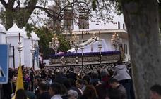 Todas las imágenes del Cristo yacente procesionando por Motril