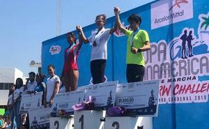 María Pérez acaba tercera en la Challenge de México