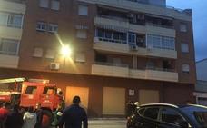Desalojan un edificio en Bailén por un fuego y otro en Jaén capital con una joven herida