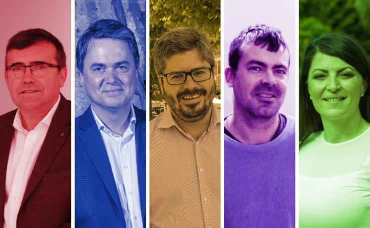 Los siete posibles diputados en el Congreso por Granada
