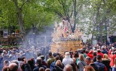 Resucitó y Granada lo celebró por el Realejo y Vergeles
