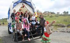 Unas 200 carretas subirán este año a la Romería desde Andújar y Marmolejo