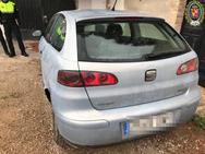 Localizado en un chalet a las afueras de Jaén un conductor sin carné y sin ITV fugado de un accidente