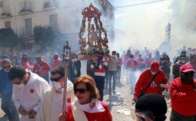 Petardos y Facundillos en el Domingo de Resurrección