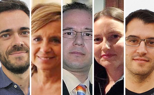Los cinco posibles diputados en el Congreso por Jaén