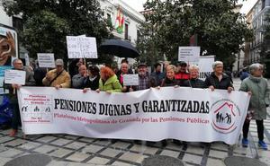 La plataforma metropolitana de pensionistas de Granada rechaza el premio concedido por el Ayuntamiento