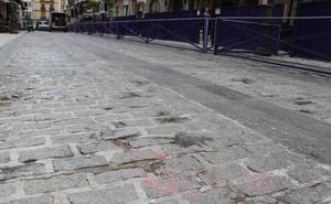 Accidente de un motorista en Jaén con la cera de Semana Santa como posible causa