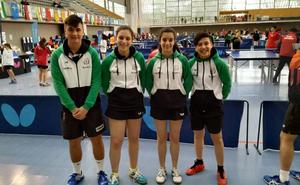 Los jugadores de Linares brillaron en el Campeonato de España de tenis de mesa