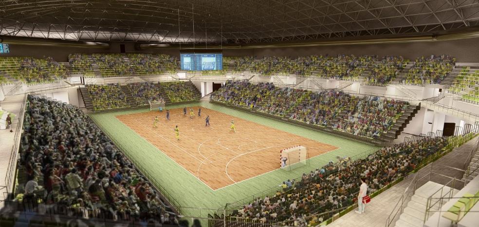 La Diputación de Jaén ya tiene licencia municipal para iniciar al Olivo Arena