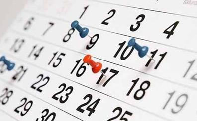 ¿Cuándo es el próximo festivo? Consulta el calendario laboral de 2019, puentes y fiestas