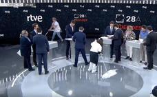 Del atrezzo al minuto de oro más comentado: las redes sacan punta al primer debate