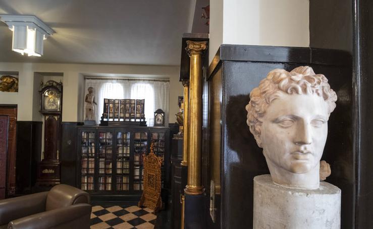 Así es la Biblioteca de la Fundación Rodríguez Acosta
