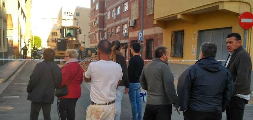 El PSOE ya denunció el estado de la fachada derrumbada