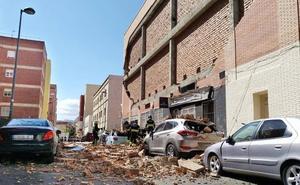 «Hemos sentido un terremoto antes de que cayera la pared»