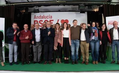 El PSOE presenta en Almería 1.274 candidatos para gobernar en los ayuntamientos y la Diputación