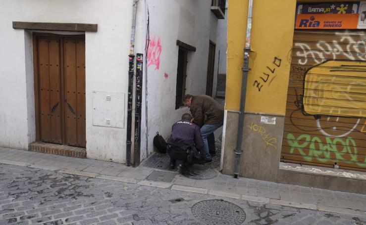 Lugar del crimen de calle Elvira: aquí han matado a un hombre de 51 años