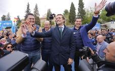 Casado asegura que la reconquista del PP comienza en Granada