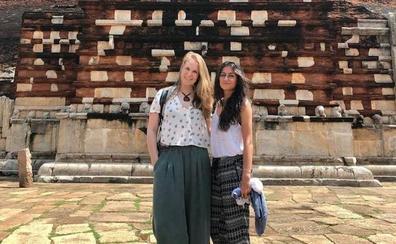 Dos granadinas, en Sri Lanka: «Al enterarnos de que había tantos muertos nos quedamos en 'shock'»