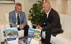 Puerto y Mancomunidad presentan el nuevo material promocional para los cruceristas