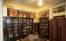 La Biblioteca de Rodríguez-Acosta, al descubierto
