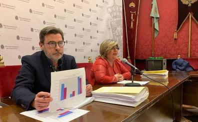 La deuda municipal desciende 33 millones de euros en tres años