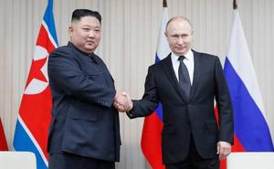 Putin y Kim abordan la desnuclearización de la península coreana y reactivan sus relaciones bilaterales