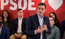 Pedro Sánchez llama a la movilización en Granada para evitar otro '2D'