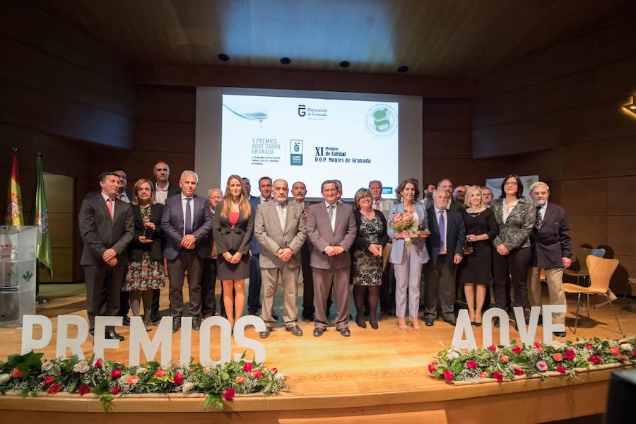 Diputación premia los mejores aceites de la provincia