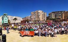 Más de 3.000 escolares llenan la plaza de la Coronación de lectura e ilusión