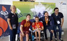 Un oro y una plata para la UJA en el Campeonato de España Universitario de Natación